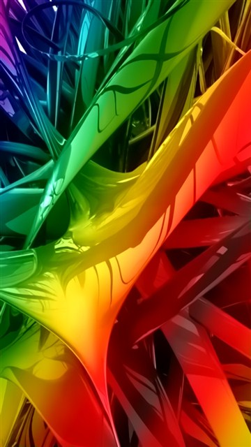 Download 3d Colors Love For Mobile Cell Phone