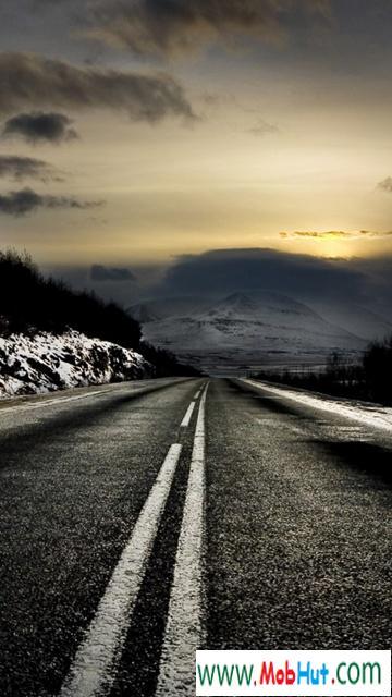 Road black hd