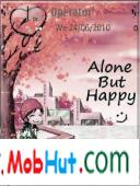 Alone but happy theme