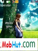Miss you theme