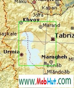 Map of iran