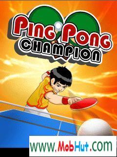 Ping pong champion