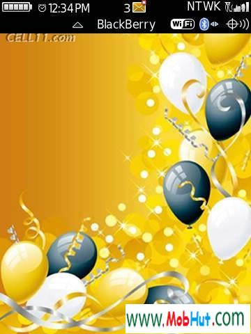 Balloon theme