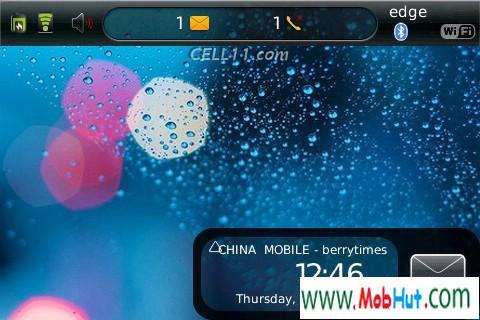 Nokia style screen