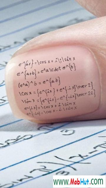 Cheating maths