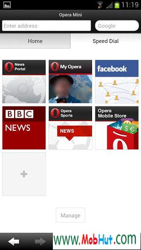 Opera mini 7.5.3 for android mobile