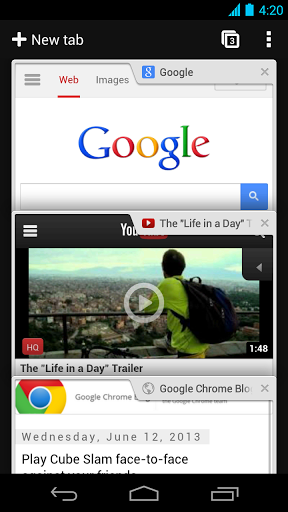Chrome browser google