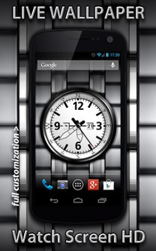 Watch screen free