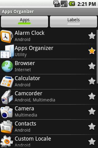 электронный органайзер android