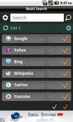 Multi search