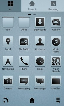 Clearview go launcher ex theme
