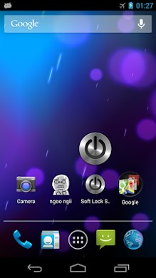 Soft lock screen