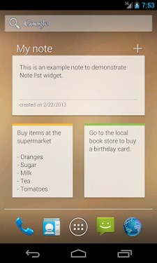 Note list notepad notes app