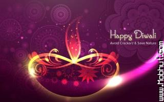 Happy diwali avoid crackers