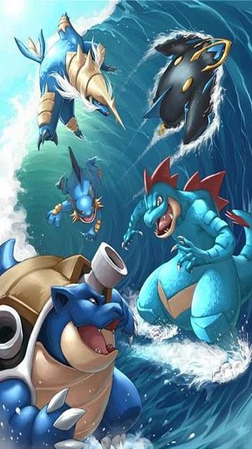 Pokemo water