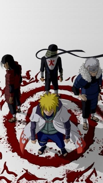 The 4 hokages
