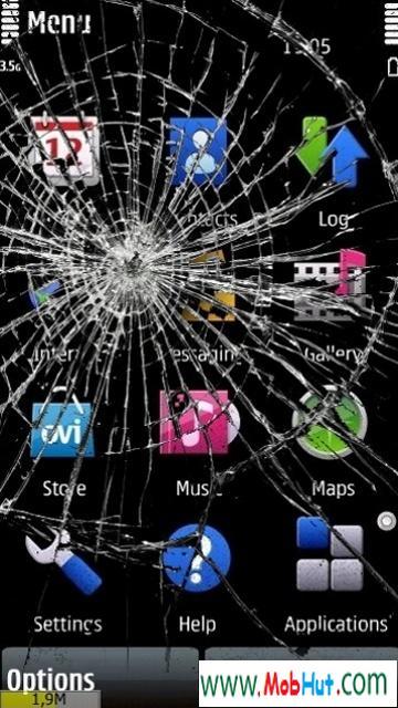 My broken mobile