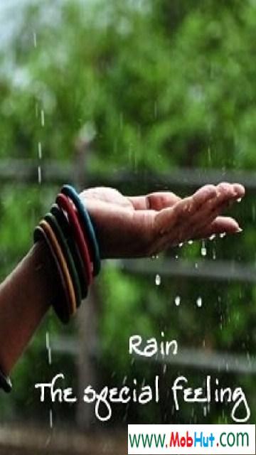 Rain special feeling