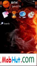 Touch fire theme