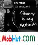 Silence theme