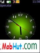 5 colours clock theme
