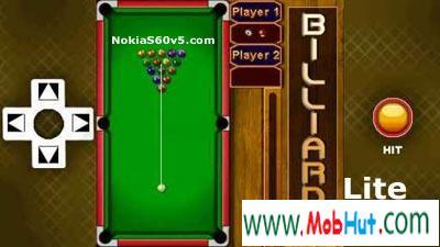 Billiards lite game