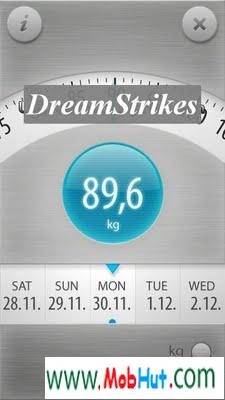 weight tracker touch
