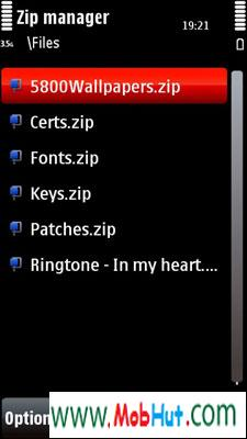 zip manager touch