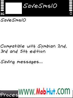 save sms
