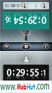 chess clock touch