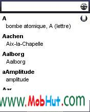 Dictionary french  engli