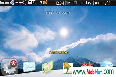 Mac sky theme