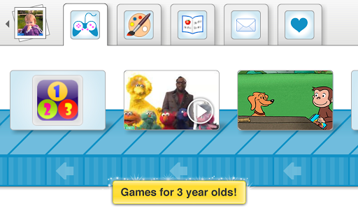 Kid mode: free games + lock
