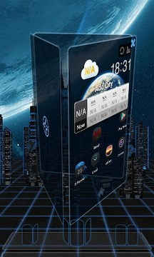 Next base 3d livewallpaper lwp