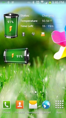 Battery tools & widget android