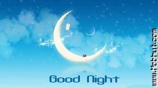Good night moon wallpaper